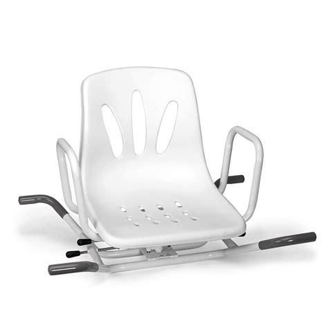 ausili per vasca da bagno per disabili sedile per vasca da bagno girevole per anziani e disabili