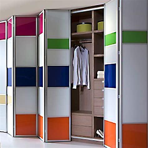Multi Fold Closet Doors Aries Bi Fold Multicolor Closet Door 001 Acrylic And Mdf Aries Interior Doors