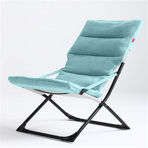 comfortable portable chair high quality soft sun lounger outdoor cing foldable