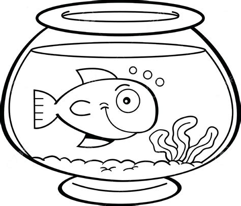 multiple fish coloring pages willpower empty fish bowl coloring page sheet 12050