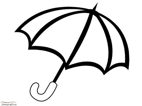 coloring page of umbrella rainbow umbrella coloring page 171 funnycrafts