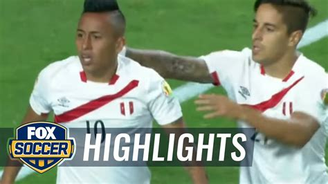 ecuador vs peru 2016 copa america highlights