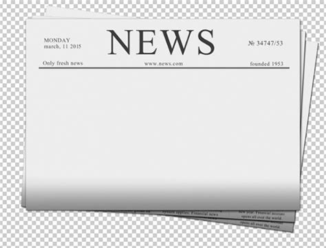 Blank Newspaper Template 20 Free Word Pdf Indesign Eps Documents Download Free News Template