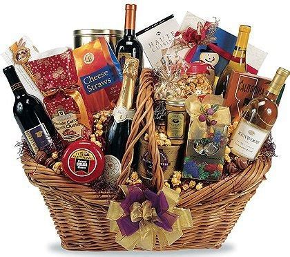 Gift Baskets   Punch Wine