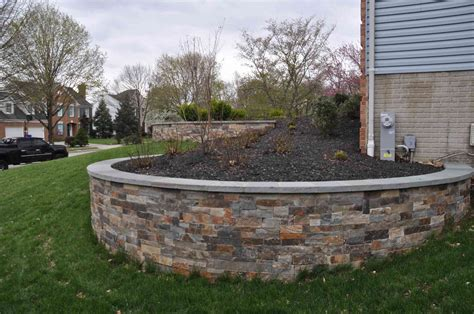 retaining wall in backyard get a quote