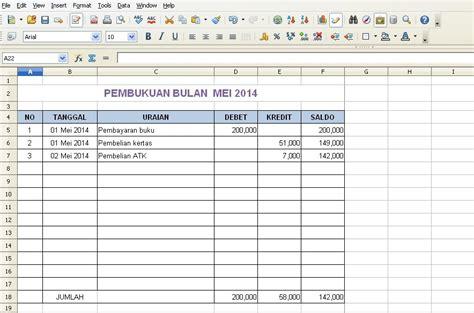 contoh membuat laporan keuangan bulanan inilah contoh laporan keuangan excel