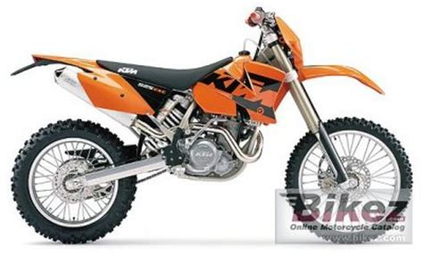 2004 Ktm 525 Exc Review 2004 Ktm 525 Exc Racing Specifications And Pictures