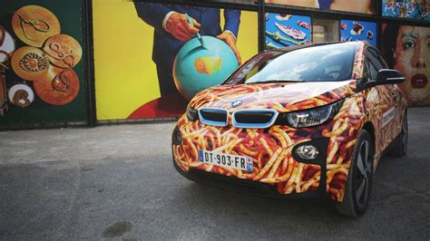 bmw  spaghetti car   meatballs autoevolution