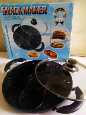 Teflon Merk Supra alat baking cetakan kue murah snack maker teflon 7 10