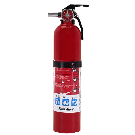 Easy To Make Home Decor by Shop First Alert Fire Extinguisher Rechargeable At Lowes Com