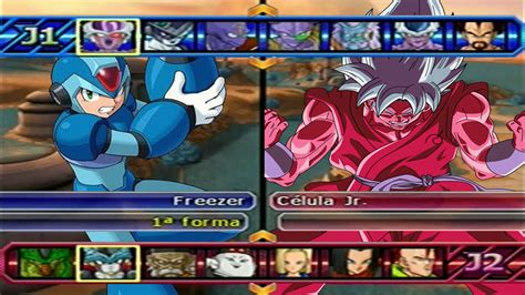 x mod game last version megaman x vs goku ssgss kaioken x10 dragon ball z