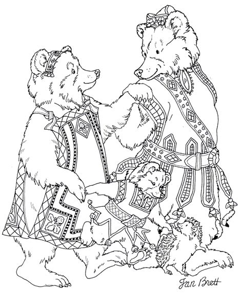 coloring pages for the hat by jan brett jan brett coloring pages coloring home