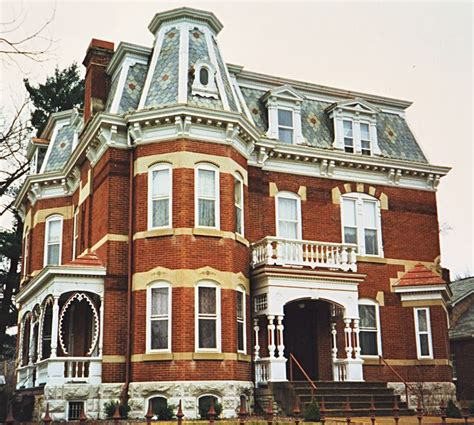 white victorian second empire house gothic norwich second empire mansion hermann mo home 187 exteriors