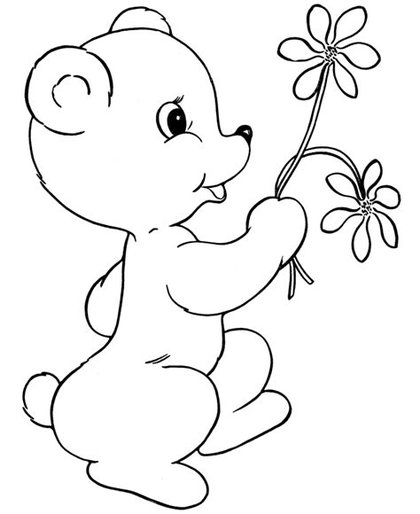Teddy Bear Color Pages Az Coloring Pages Coloring Page Teddy