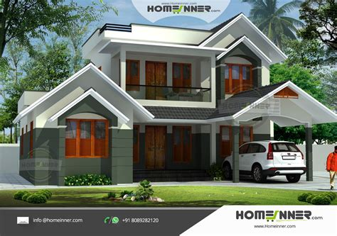 low budget house plans in kerala slope roof low cost penting ayo di share