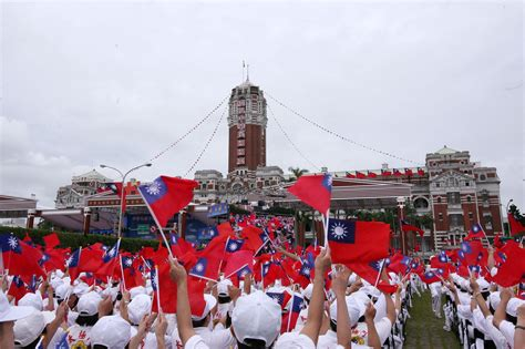 taiwan s day tenth national day in taiwan by wu