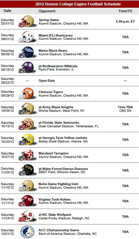 printable eagles schedule 2016 bc football schedule driverlayer search engine