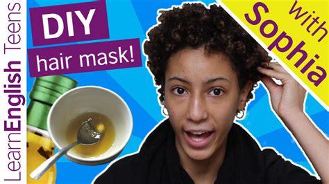 diy hair mask diy hair mask learnenglish teens british council
