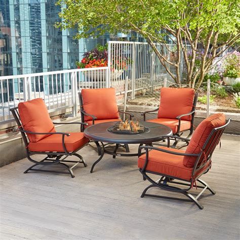 decoration gas fire pit table  chairs outdoor tables