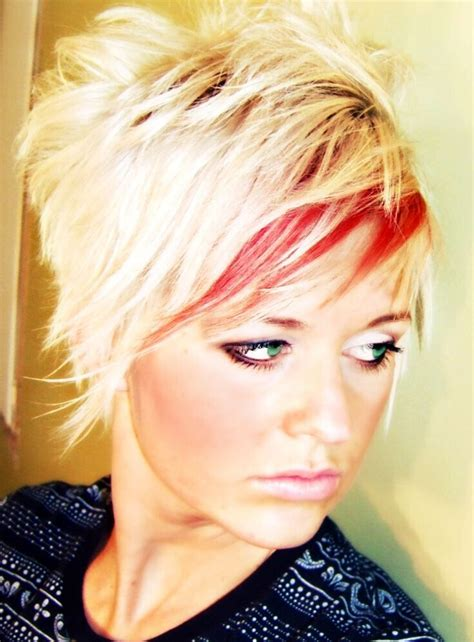platnium highlights very very short pixie salt and pepper 16 great short shaggy haircuts for women pretty designs