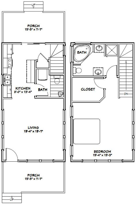 30 wide by 56 deep floor plans google search future home 16x30 house 16x30h7g 873 sq ft excellent floor plans