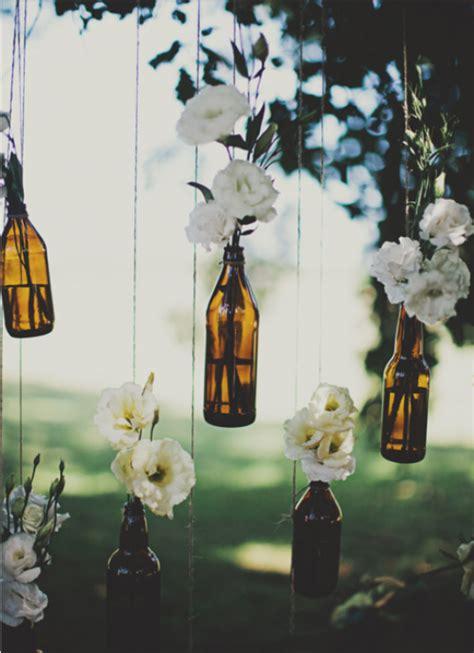 beer bottle vases hanging  tree favethingcom