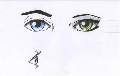 male vs female eyes how to draw eyes male vs female eye for beginners youtube