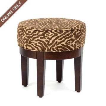 Animal Print Vanity Stool by 1000 Images About Animal Prints On