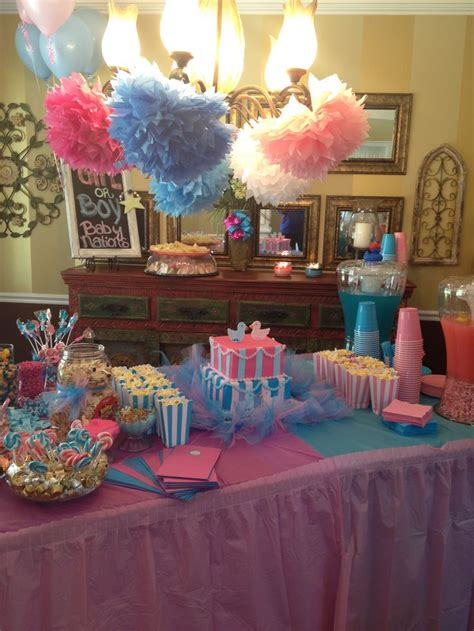 Gender Reveal Decoration Ideas by 1000 Ideas About Gender Reveal Decorations On Baby Reveal Ideas Baby Reveal