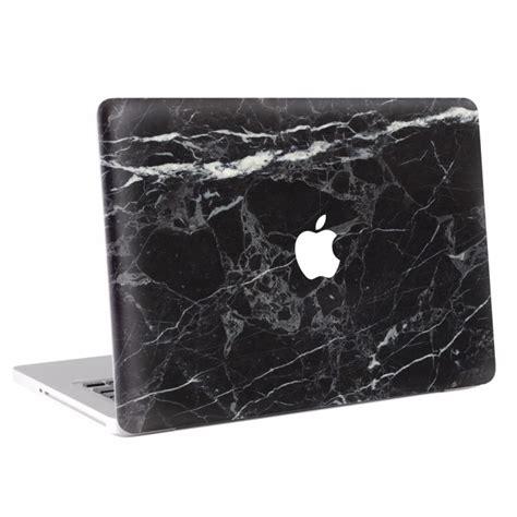 Macbook Aufkleber Schwarz by Schwarzer Marmor Macbook Skin Aufkleber