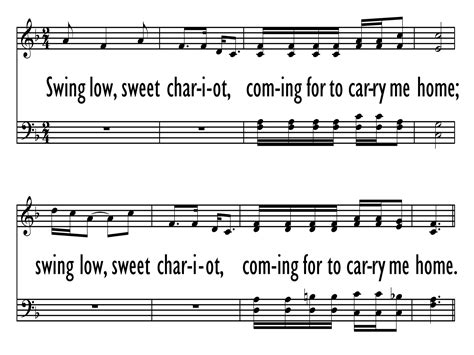 words to swing low sweet chariot hymn swing low sweet chariot gray psalter 617 hymnary org