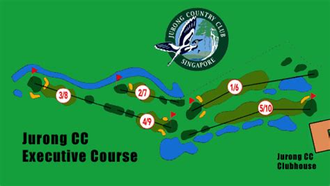 Jcc Golf Layout | asian senior masters golf venue jurong country club