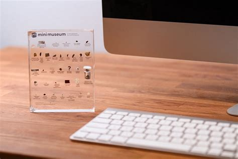 cool things for your desk mini museum