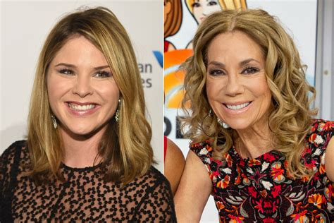 kathie lee gifford jerry kathie lee gifford s today replacement jenna bush hager