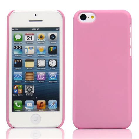 03mm Ultra Thin Iphone 5c Pink for iphone se 5c pink 0 8mm ultra slim rubberized pc back cover jet