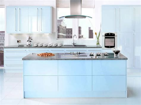 blue kitchen designs 20 gorgeous blue themed kitchen design ideas
