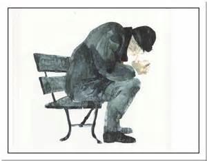 le d 233 sespoir est assis sur un banc jacques pr 233 vert
