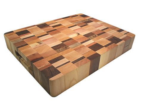 how to make an end grain butcher block bengston woodworks artisan end grain butcher block 20 x 16 x 3