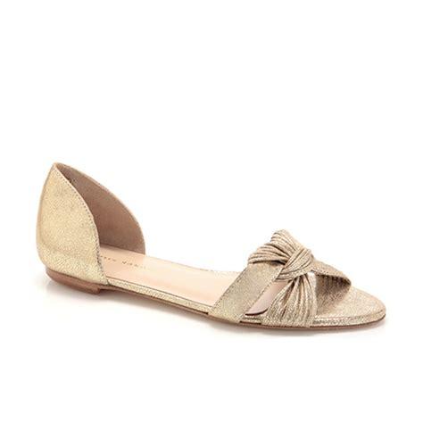 loeffler randall sandal lyst loeffler randall luella mignon flat sandal in metallic
