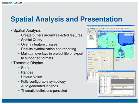 point pattern analysis in gis ppt ppt bentley map powerpoint presentation id 843205