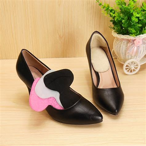 high heel protector 1 pair foot care protector high heel shoe liner grip back