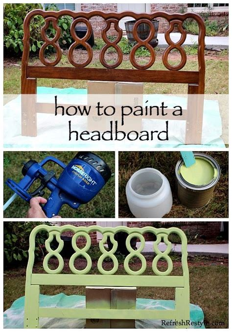 paint a headboard how to paint a headboard refresh restyle