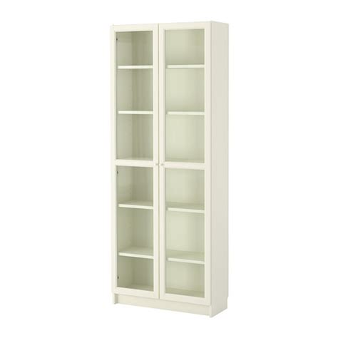 billy oxberg bookcase white ikea