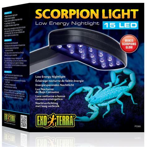 exo terra scorpion light exo terra scorpion light 2w 15 led reptile centre