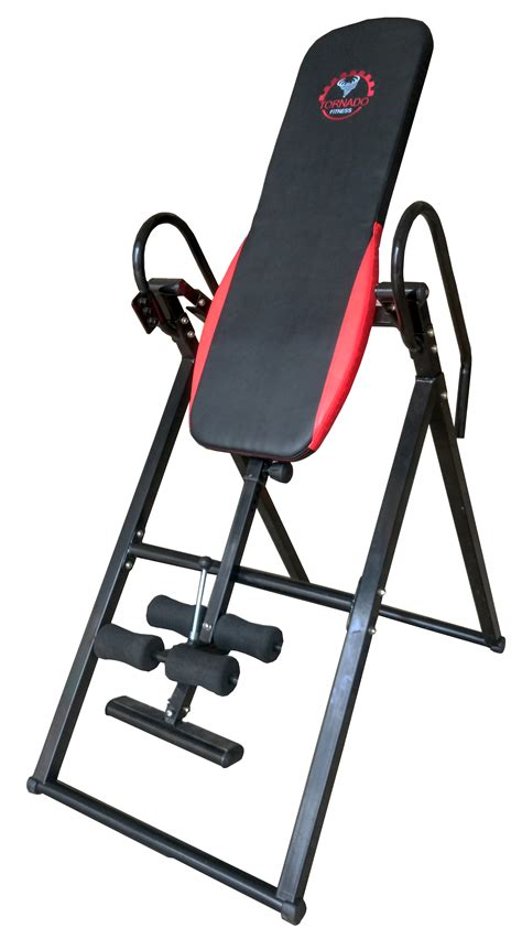 inversion bench tornado fitness deluxe gravity inversion table fitness
