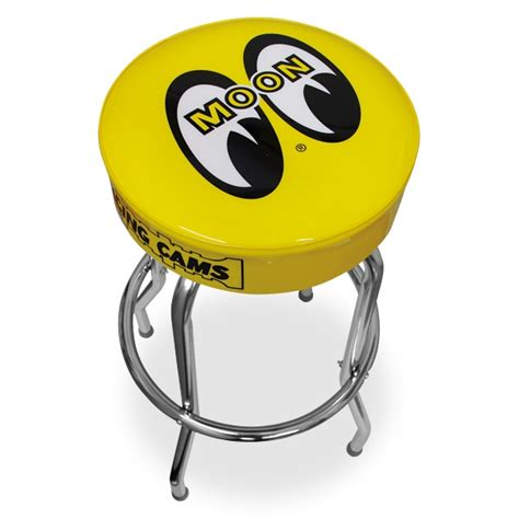 mooneyes moon racing cams bar stool