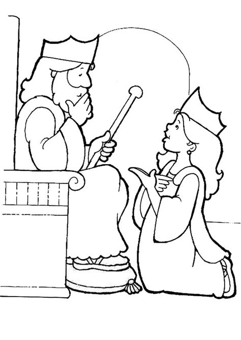 coloring pages esther queen bible merry christmas coloring pictures preschool children www
