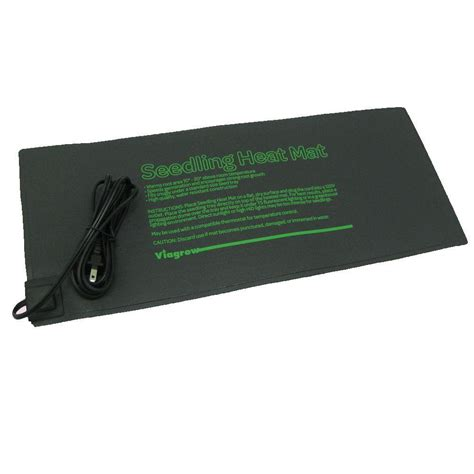 Seedling Heat Mat by Viagrow 20 5 In X 8 5 In Seed Propagating Seedling Heat