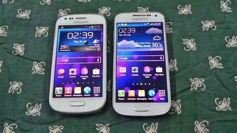Samsung Ace 3 Vs S3 Mini samsung galaxy s4 mini vs samsung galaxy s3 mini