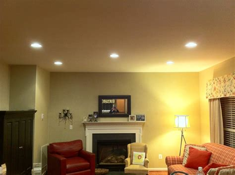 recessed lighting placement in living room advice for